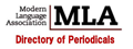 MLA Directory of Periodicals